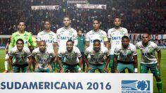 Das brasilianische Fußballteam von Chapecoense
