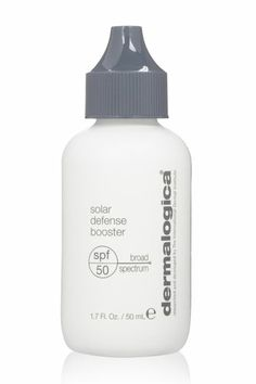 You know you need to protect your skin, but can't stand the heavy feel of high SPFs. Well, Dermalogica comes to the rescue. This lightweight booster adds major ray-blocking heft to any moisturizer or foundation you mix it with.  Dermalogica Solar Defense Booster, $48, available at Ulta.