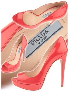 Spring - Summer 2012  Patent Leather  Red  Heel 13 cm (5 1/8 inches)