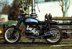 BMW R100rs Brat Style by hb-custom Nr.10 #bratstyle #motos #motorcycles | Vintgarage