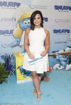 Guests of honor: Demi Lovato swung by the United Nations headquarters in New York City on ...