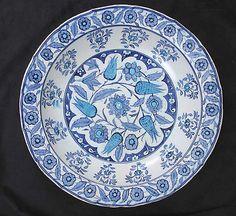 Bowl | Iznik, Turkey, mi-16th century | Stonepaste; painted and glazed | The Metropolitan Museum of Art, New York