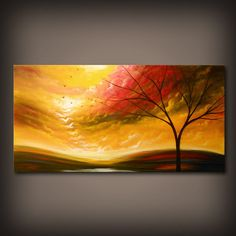 Art large art acrylic painting original painting 48 by mattsart