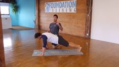 Strength Tips: Foundation Training with Eric and Johnny