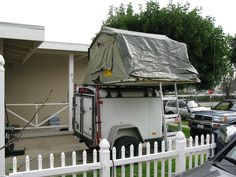2015 Stealth Enclosed 4x6 Low Profile Cargo Trailer For