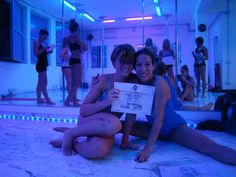 Me and Escalante, miss pole argentina