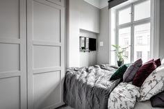 Sweet Home, Gravity Home, Studio Apt, Small Places, Small Rooms, Bedroom Small, Home Bedroom, Bedroom Ideas, Decoration