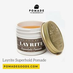 Shop for Layrite if your after a strong hold and medium shine Pomade. Pomadegoods has a range of of the best men's hair pomade. Mens Pomade, Hair Pomade, White Boy Haircuts, Haircuts For Men, Beard Styles Pictures, Mens Beard Grooming, Shawn Mendes Hair, Slick Hairstyles, Slicked Back Hair