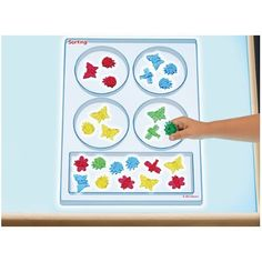 Light Table Sorting Tray at Lakeshore Learning Place Value Blocks, Building Toys For Kids, Teacher Magazine, Lakeshore Learning, Color Changing Lights, Early Math, Plastic Trays, Activity Centers, Working With Children