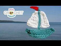 Crochet Car Applique Tutorial - Аппликация крючком Машинка - Aplicatie crosetata Masinuta - YouTube