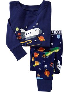 Old Navy   Spaceship PJ Sets for Baby