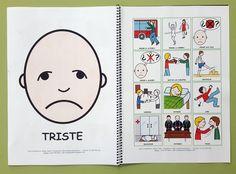 ARASAAC - Materiales: Juego de los sentimientos Pecs Pictures, Social Skills Autism, Feelings And Emotions, Psychology, Teaching, Kindergarten, Wellness Tips, Cami, Ideas