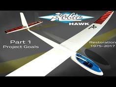 Gliders, Plane, Restoration, Hobbies, Youtube, Vintage, Aircraft, Vintage Comics, Airplanes