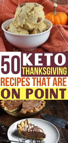 These Keto Thanksgiving Recipes Are The Best Now I Can Have All My Favorite Fall Dishes On My Ketogenic Diet Healthy Mains, Sides, Appetizers and Desserts Try The Pumpkin Ice Cream And Chocolate Pie, Yum Ketogenic Recipes, Low Carb Recipes, Diet Recipes, Healthy Recipes, Healthy Appetizers, Diet Tips, Yummy Recipes, Salad Recipes, Vegetarian Recipes