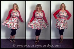 My review of the Pink Clove Bold Bloom Skater Dress http://www.curvywordy.com/2014/08/pink-clove-bold-bloom-skater-dress-18.html