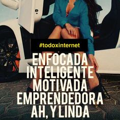 Soy Enfocada y muy bella. The mentor of the billion. Positive Phrases, Motivational Phrases, Inspirational Quotes, Favorite Quotes, Best Quotes, Love Quotes, Mentor Of The Billion, Boss Babe Quotes, Millionaire Quotes