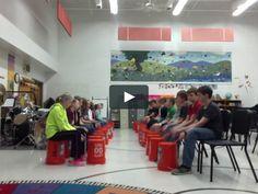 bucket drumming explores rondo form
