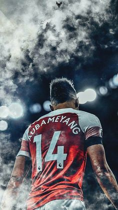 PE Aubameyang Wallpaper of the leading goal scorer for Arsenal, PE-Aubameyang. Soccer Art, Football Art, Arsenal Football, Arsenal Fc Players, Aubameyang Arsenal, Arsenal Pictures, Manchester City Logo, Arsenal Wallpapers, Cristiano Ronaldo Wallpapers