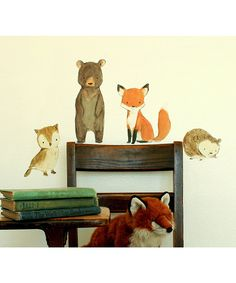 Woodland Friends for a kids room