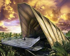 Citylab Design Studio just unveiled their winning proposal for an archaeological visitor centre in Lenggong Valley, Malaysia.