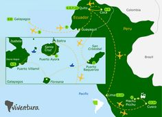 Galapagos Island Tours | Ecuador and Peru | Viventura  #ViventuraPinYourWaytoSouthAmerica