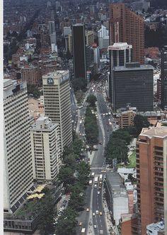 1998 Cr 7 centro aérea,Bogota,Colombia. South America, San Francisco Skyline, Places To Travel, Skyscraper, Scenery, Adventure, History, Architecture, City