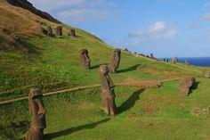 Le teste Moai dell'isola di Pasqua hanno un corpo 6