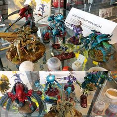 Any #warmongers in #toronto can check out my work at #gamesworkshop Y&L. #miniaturemonday