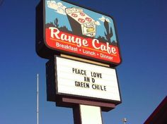 The Range Cafe! My favorite place for breakfast!!!! ABQ New Mexico