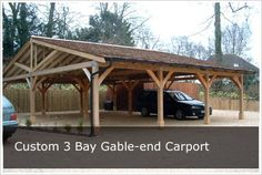 Complete Kits! Devoted Double Carports Attractive Timber