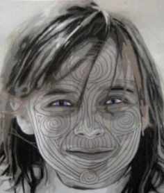 quilting faces. Virginia Greaves, my favorite portrait quilter