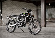 When Verve Moto were approached by a customer to build a tall, light and powerful enduro bike with a 250cc engine that could handle all the different roads Bali has to offer, they knew the Kawasaki…