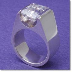 Ring<br>silver950,Quartz