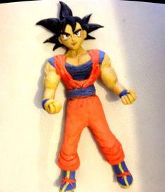 Tutorial Goku porcelana fria o Plastilina (polymer clay)