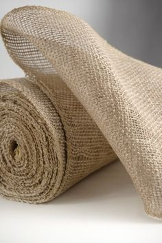 """Burlap Fabric 9"""" wide x 10 yards For the chairs? #saveoncrafts #dreamwedding"""