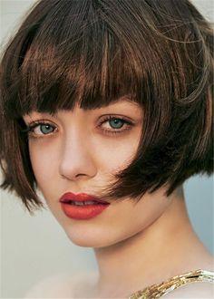 Cute Hairstyles For Medium Hair, Curly Bob Hairstyles, Hairstyles With Bangs, Medium Hair Styles, Short Hair Styles, School Hairstyles, Everyday Hairstyles, Weave Hairstyles, Wedding Hairstyles
