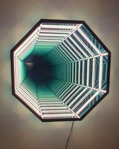 Incredible infinity mirrors by Anthony James 😍 credit  Restaurant Interior Design, Decor Interior Design, My Home Design, House Design, Infinity Mirror Table, Infinite Mirror, Futuristic Party, Mirror Effect, Mirror Art