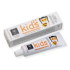 Pasta de dientes para niños, sin conservantes, parabenes, SLES & SLS, colorantes, glicol de propileno. OJO, TIENE FLUOR.