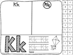 Bilingual Scrapbook: My Alphabet {Alphabet Practice Pages}