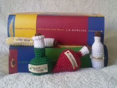 Potter's Potions free crochet patterns on Takosan at http://takosan.pl/en/potter-potions/