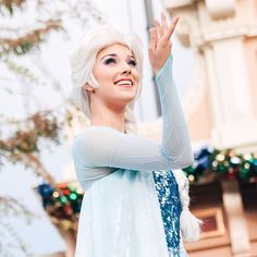 "Emmy Grace on Instagram: ""✨❄️ And it looks like she's the queen ✨❄️ #disney #disneyland #acf #achristmasfantasy"""