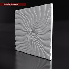 Molds for 3D panels made from plastic PVC Semi-Soft