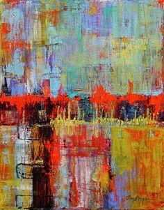 PINTURA Y- ARTE Scrape Painting, Amazing Paintings, Impressionist Paintings, Acrylic Art, Contemporary Paintings, Abstract Art, Abstract Paintings, Deco, Home Art