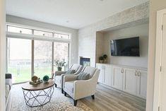 Beautiful Interior Design, Beautiful Interiors, Oversized Mirror, Flat Screen, Design Ideas, Furniture, Home Decor, Blood Plasma, Decoration Home