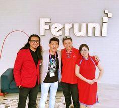 In presence of super individuals @ Feruni open house