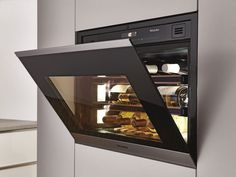 Compact wine units ... The Miele KWT 6112 iG ed/cs wine storage unit is hardly bigger than a microwave oven