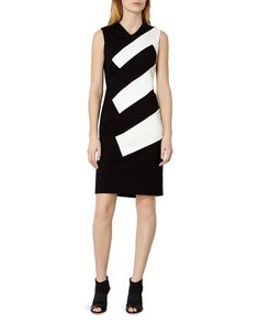 Karen Millen Riviera Color-Blocked Dress