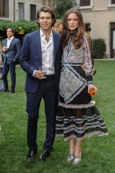 mytheresa.com x Erdem event, Venice - May 26 2016 James Righton and Keira Knightley.