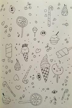 Patterns summer sketches