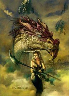 Niamh (Gwynweleth dragon)
